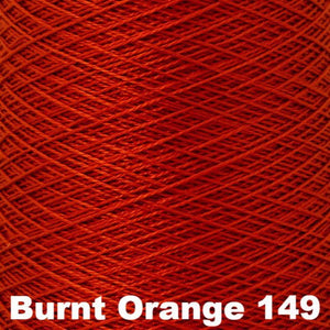 3/2 Mercerized Perle Cotton-Weaving Cones-Burnt Orange 149-