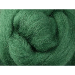 Paradise Fibers Ashford Solid Colored Corriedale Sliver - 2.2lb bag - Kiwifruit - 1