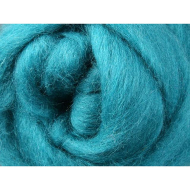 Paradise Fibers Ashford Solid Colored Corriedale Sliver - 2.2lb bag - Spearmint - 1