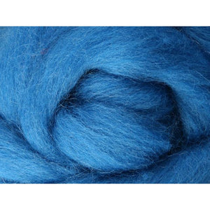 Paradise Fibers Ashford Solid Colored Corriedale Sliver - 2.2lb bag - Lagoon - 1