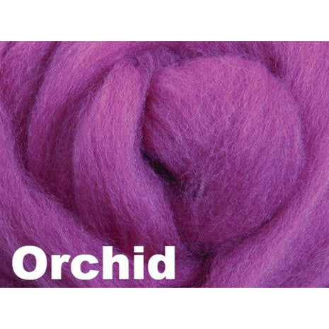 Paradise Fibers Fiber Ashford Solid Colored Corriedale Sliver (4oz bag)  - 52