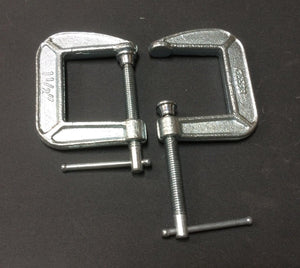 "C Clamps -Pair- For Comb Holder and/or Hackle-Comb Accessory-1.5""-"