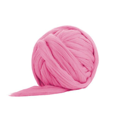 Soft Dyed (Camellia) Merino Jumbo Yarn - 7lb Special for Arm Knitted Blankets