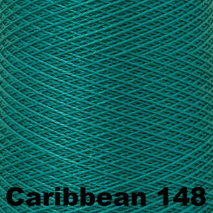 3/2 Mercerized Perle Cotton-Weaving Cones-Caribbean 148-