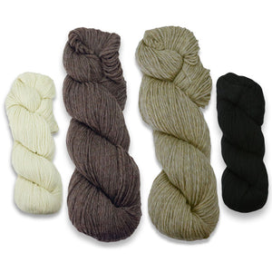 Baa-ble Hat Kit in Cascade 220-Kits-Sheepishly Shetland-