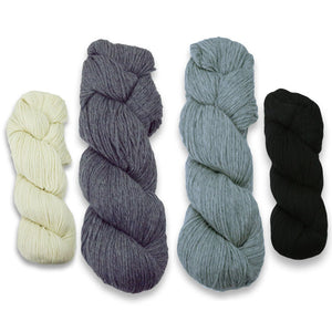 Baa-ble Mittens and Cowl Kit in Cascade 220-Kits-Fifty Shades of Ewe-