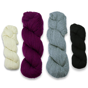 Baa-ble Mittens and Cowl Kit in Cascade 220-Kits-Reweby in the Rough-