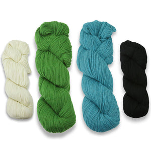 Baa-ble Mittens and Cowl Kit in Cascade 220-Kits-Sheepishly Shetland-