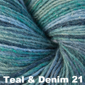 Cascade Casablanca Yarn-Yarn-Teal & Denim 21-
