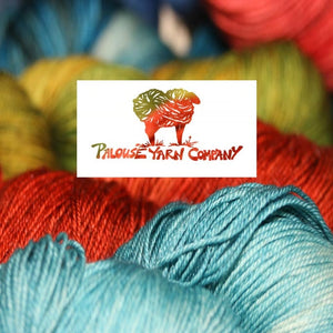 Palouse Yarn Company Cashmere Squeeze-Yarn-Sour Cherries-