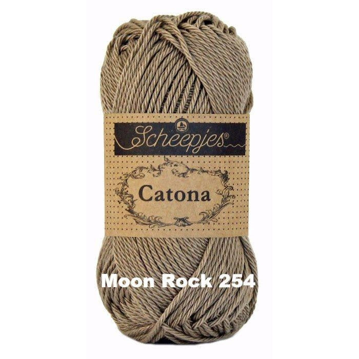 Scheepjes Catona 50g Yarn Moon Rock 254 - 42