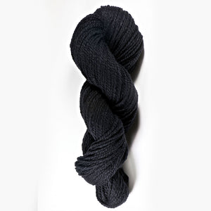Color Black Rose. Kettle-Dyed Skein of 100% Wool Yarn From Cestari U.S.A.