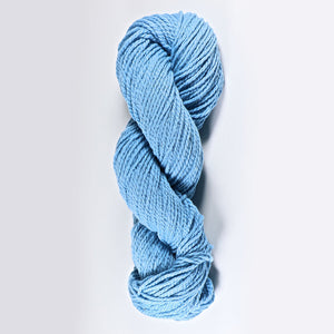 Color Bluet. Kettle-Dyed Skein of 100% Wool Yarn From Cestari U.S.A.