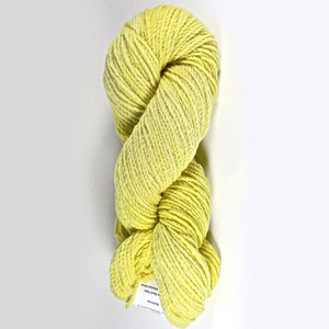 Color Buttercup. Kettle-Dyed Skein of 100% Wool Yarn From Cestari U.S.A.