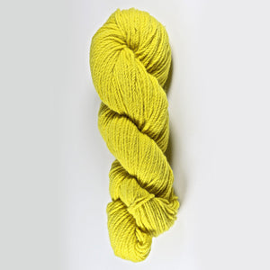 Color Daffodil. Kettle-Dyed Skein of 100% Wool Yarn From Cestari U.S.A.