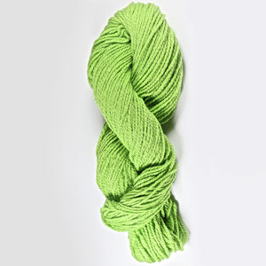 Color Lemongrass. Kettle-Dyed Skein of 100% Wool Yarn From Cestari U.S.A.