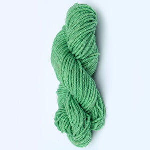 Color Mint. Kettle-Dyed Skein of 100% Wool Yarn From Cestari U.S.A.