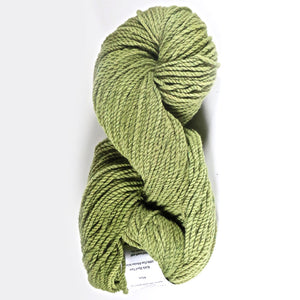 Color Moss. Kettle-Dyed Skein of 100% Wool Yarn From Cestari U.S.A.