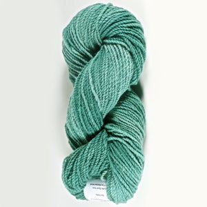 Color Sea Holly. Kettle-Dyed Skein of 100% Wool Yarn From Cestari U.S.A.