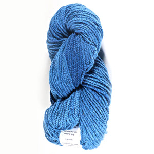 Color Spruce Blue. Kettle-Dyed Skein of 100% Wool Yarn From Cestari U.S.A.