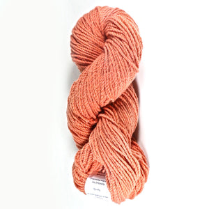 Color Tiger Lily. Kettle-Dyed Skein of 100% Wool Yarn From Cestari U.S.A.