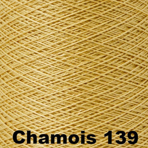 3/2 Mercerized Perle Cotton-Weaving Cones-Chamois 139-
