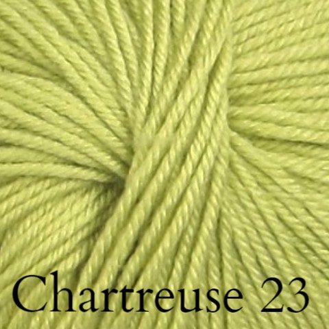 Ella Rae Cozy Soft Solids Yarn Chartreuse 23 - 15