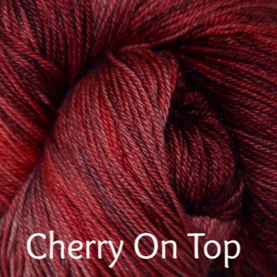 Paradise Fibers Yarn Palouse Yarn Company Cashmere Squeeze Cherry On Top - 12