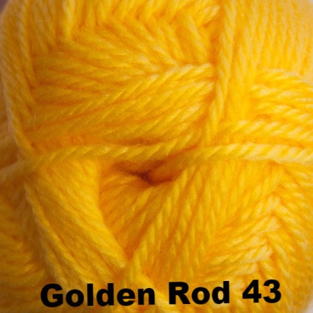 Cascade Cherub Aran yarn Golden Rod 43 - 3