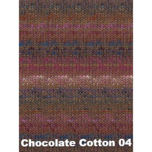 Noro Shinryoku Yarn-Yarn-Chocolate Cotton 04-