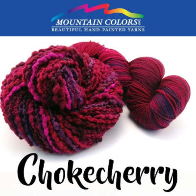 Mountain Colors Twizzlefoot Yarn Chokecherry - 15