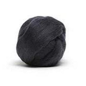Louet Dyed Corriedale Top (1/2 lb bags) Charcoal - 6