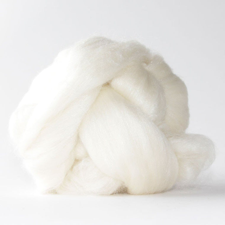 Paradise Fibers Superwash Merino/ Silk Blend- Cirrus 1lb