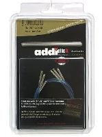 Addi Click Cords, Turbo and Long Lace Tip 3-pack sets with Connector  - 1