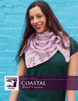 Juniper Moon Farm Coastal Shawl Pattern