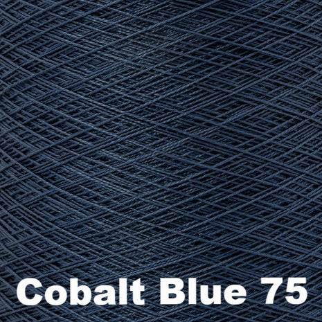 10/2 Perle Cotton 1lb Cones Cobalt Blue 75 - 3