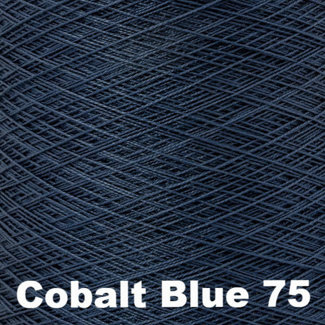 5/2 Perle Cotton 1lb Cones Cobalt Blue 75 - 3