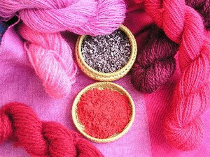 Earthues Natural Dye Cochineal per ounce-Dyes-