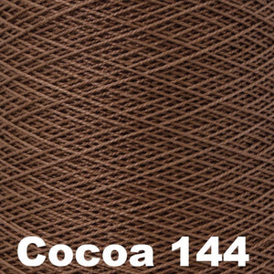 3/2 Mercerized Perle Cotton-Weaving Cones-Cocoa 144-