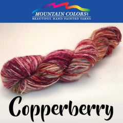 Mountain Colors Twizzlefoot Yarn Copperberry - 17