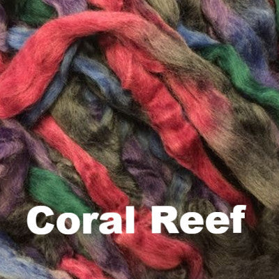 Louet Northern Lights Space Dyed Wool Tops (1/2 lb bags) Coral Reef - 19