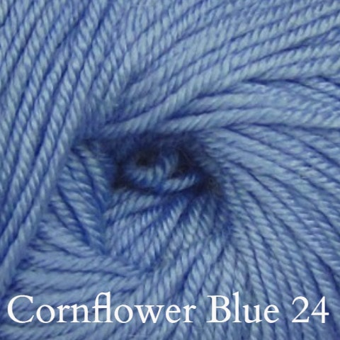 Ella Rae Cozy Soft Solids Yarn Cornflower Blue 24 - 16
