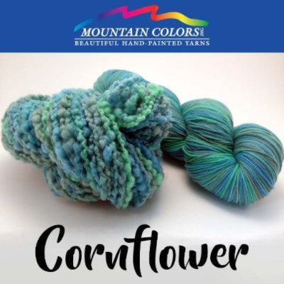 Mountain Colors Twizzlefoot Yarn Cornflower - 18
