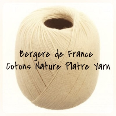Bergere de France Cotons Nature Platre Yarn