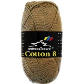 Scheepjes Cotton 8 Scheepjes Cotton 8 - Light Brown 659 - 32