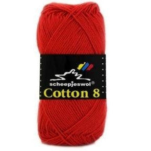 Scheepjes Cotton 8 Scheepjes Cotton 8 - Red 510 - 9