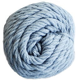 Brown Sheep Cotton Fine Yarn (1/2 lb Cone) Deep Sea Fog CW385 - 17