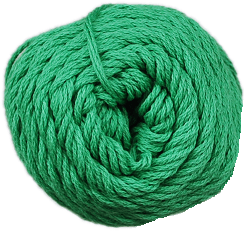 Brown Sheep Cotton Fine Yarn (1/2 lb Cone) Green Apple CW410 - 19