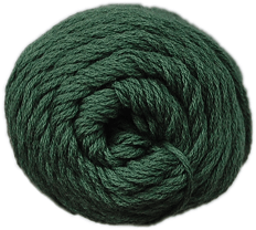 Brown Sheep Cotton Fine Yarn (1/2 lb Cone) Jungle Green CW460 - 22