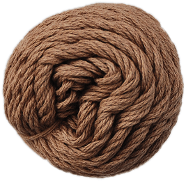 Brown Sheep Cotton Fine Yarn (1/2 lb Cone) Mink Brown CW827 - 43